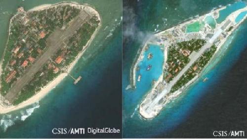 英媒称越南延长南海岛屿飞机跑道:加强对华防御