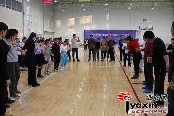任县第四中学老师照片-办兵地融情青年教师趣味运动会图片