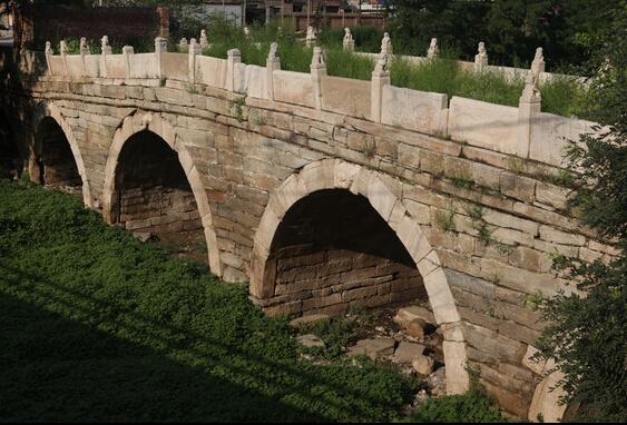 安国伍仁桥。 图片来源于网络