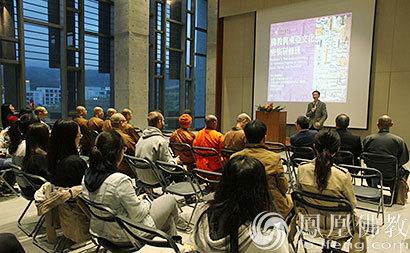 五台山法师赴台参加佛教与东亚文化国际研修班
