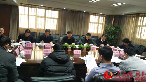 图为河北省扶贫基金会理事会会议现场。李美玲 摄