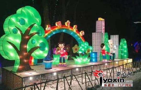 """乌鲁木齐市植物园打造""""一节五展""""冬季旅游品牌"""