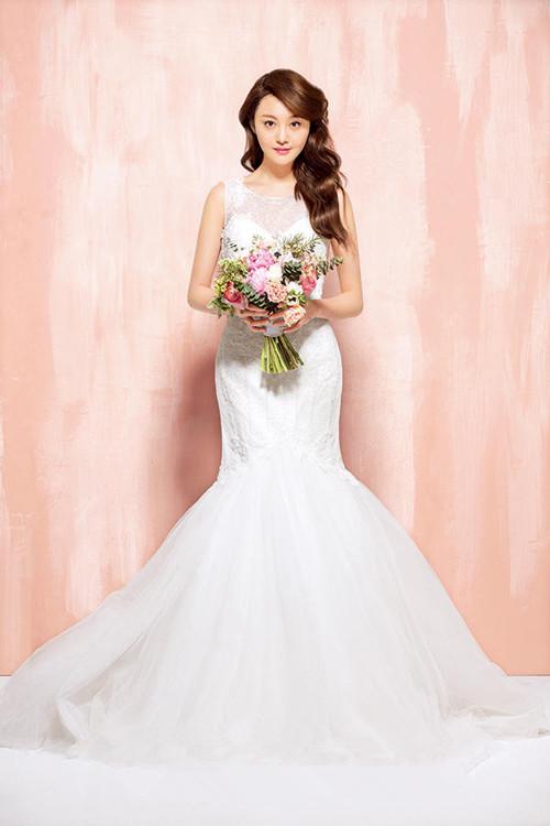 秒杀倪妮景甜郑爽 穿婚纱最美的女星都不如她