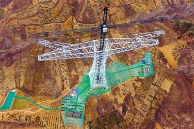 1月4日,昌吉(新疆)—古泉(安徽宣城)±1100千伏特高压直流输电工程