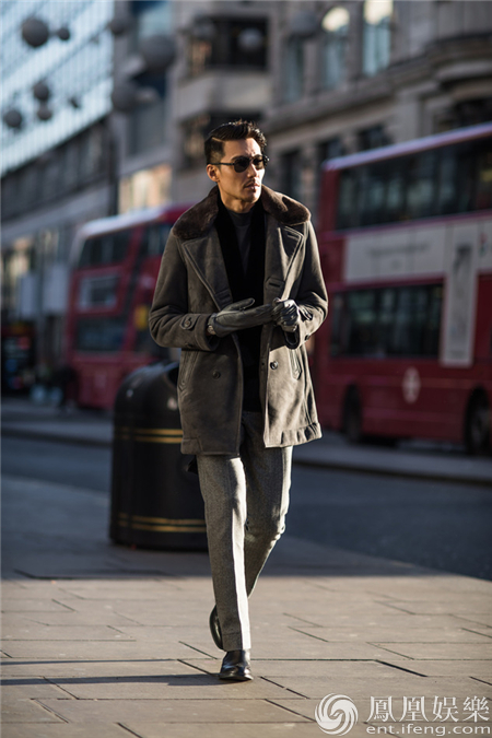 胡兵伦敦时装周 圈粉贝克汉姆期待交流合作
