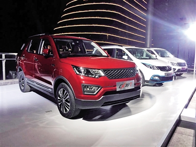 十万级SUV来袭 长安发布新车CX70T高清图片