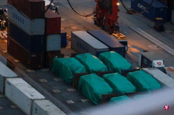 新加坡装甲车被扣 港府:有人会被起诉但非新政府