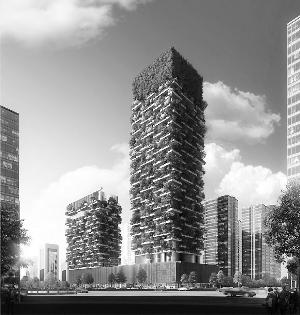 """南京要建200米高的""""垂直森林"""""""