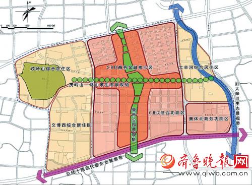 """按照""""窄马路,密路网""""的城市道路规划布局理念,形成级配合理的路网体系"""