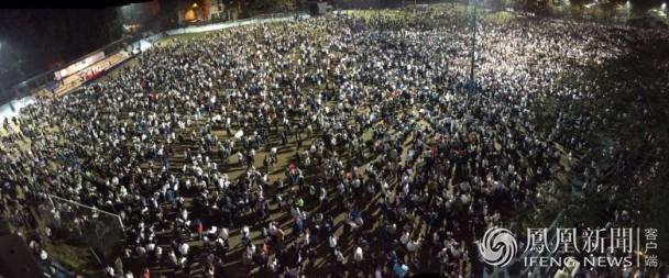 台湾228公园被插满五星红旗(图) - 天在上头 - 我的信息博客
