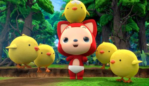 感恩十一周年 阿狸献上首部3D动画图片