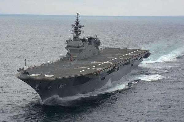 罗援:日舰出云号赴南海要守规矩 中国军队盯着呢