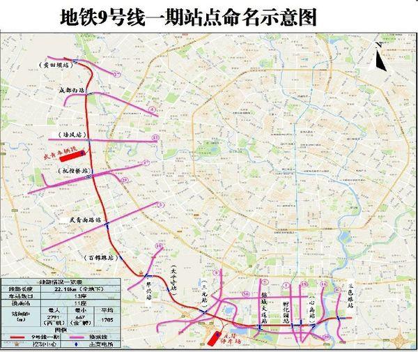 """成都地铁6号线原""""西华大道""""将更名""""欢乐谷"""""""