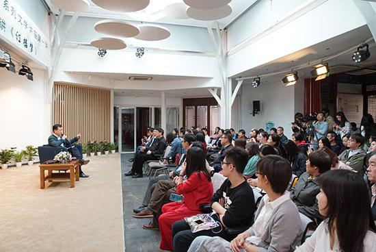 师范大学等北京各大高校的学生代表和鲁迅文学院的青年作家以及文