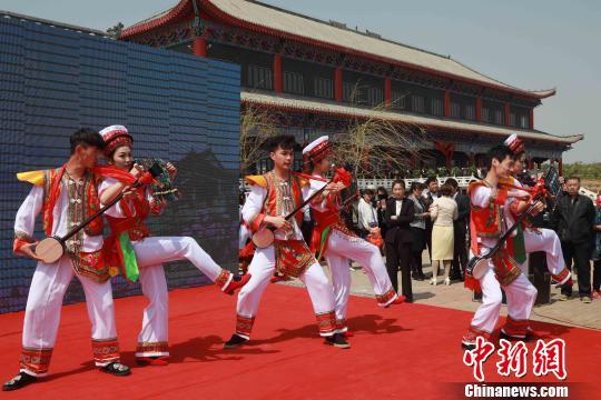 沈阳法库·云南大理民族文化旅游交流年活动5月10日启动。沈殿成 摄