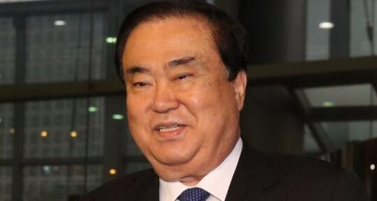 资料图:韩国总统派往日本的特使文喜相