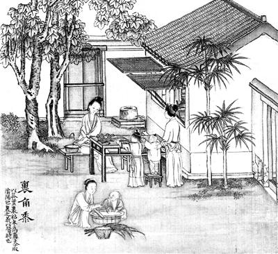 素描画桃子写实的步骤
