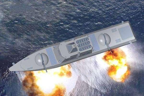 中国发展武库舰 可以潜水航行 - 点击图片进入下一页
