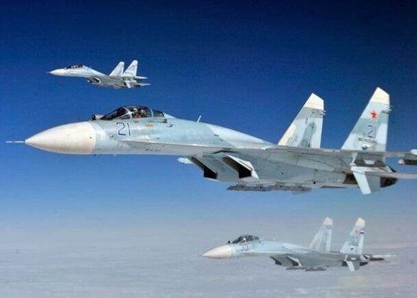 俄军苏-27战机