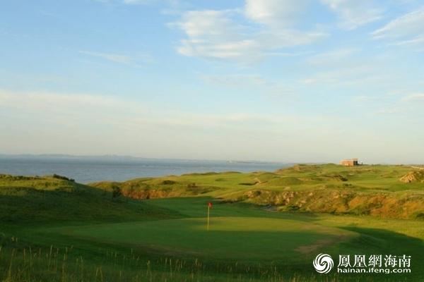 东北赛区大连长兴岛高尔夫球场