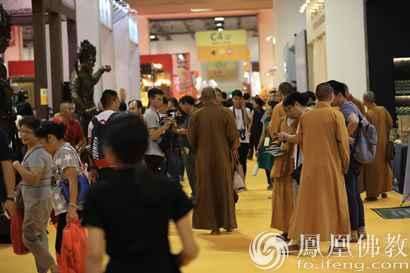 第十二届厦门国际佛事用品展现场(图片来源:凤凰佛教 摄影:耀杰)