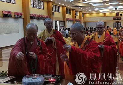 印尼法禅长老弘法南洋纪念法会在棉兰佛教城举行
