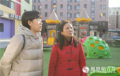 凤观青岛  因为自己的儿子石头,方静打开了自闭症康复教育之门.