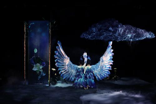 中国儿艺新戏《鹬·蚌·鱼》在京首演 丰富戏曲元素获点赞