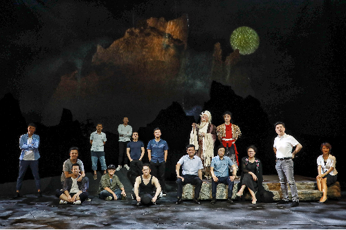 中国儿艺新戏《月亮草》将于7月在京首演