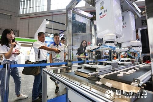 再登CIROS2018展!青岛高新区连获三届最具影响力机器人产业园奖