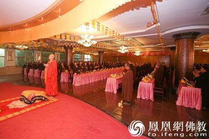普陀山佛教协会举办观音七法会 300余人参加_法会-佛教-观音-和尚-普陀山