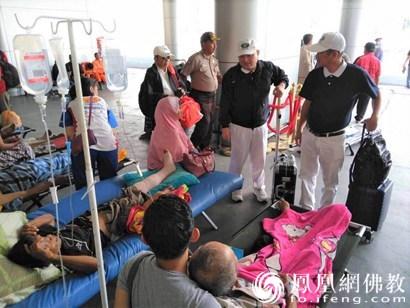 印尼强震救灾现场:慈济基金会8.4吨香积饭送抵雅加达_印尼-慈济-救灾-雅加达-志工