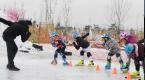 怀来 :掀起冬季冰雪运动热