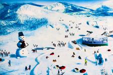 娱乐滑雪场概念设计效果图