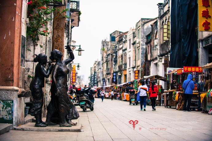 北海老街是一条有一百多年历史的老街,始建于1883年,长1.