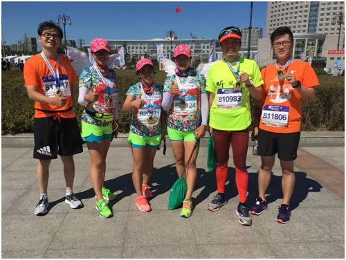 嗨享生活益起跑 海尔消费金融哈尔滨马拉松再出发