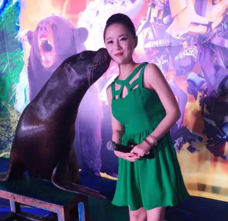 西安主持人元元受邀疯狂动物城儿童主题乐园开幕活动图片