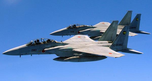 日战机紧急升空次数新高 7成针对中国飞机