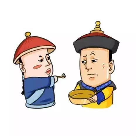 版清朝皇帝头像
