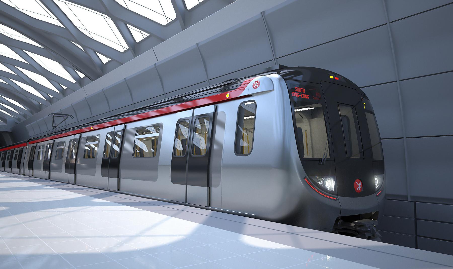 无驾驶员!中国首列无人驾驶地铁在香港开通(图)