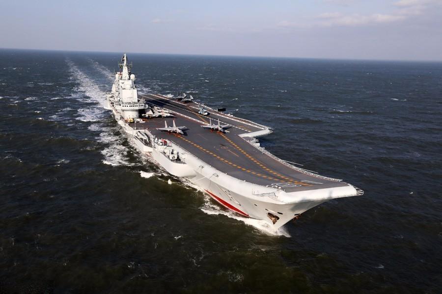 """美国务院回应""""辽宁舰正在穿越台湾海峡""""(组图)"""