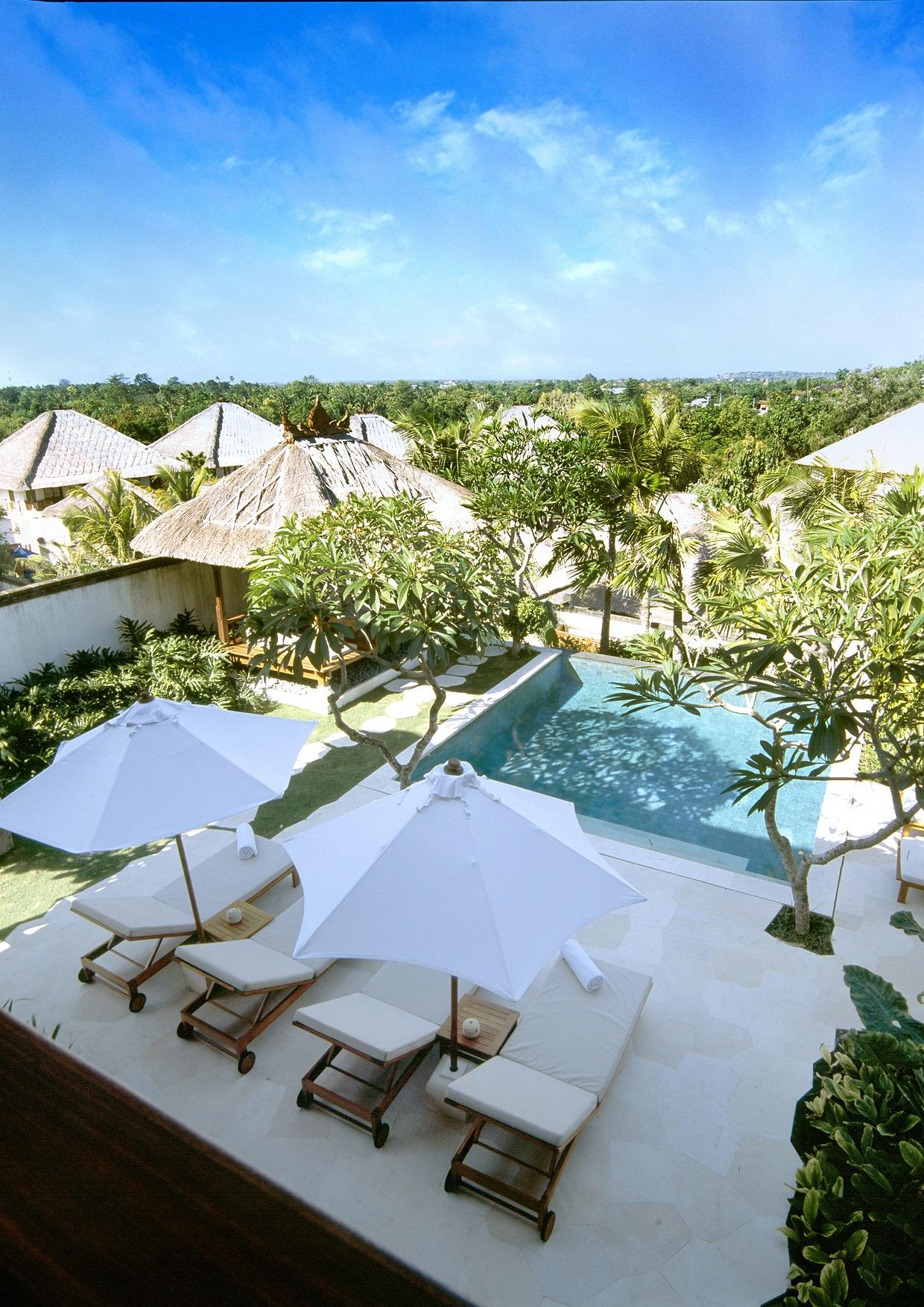碧海蓝天,椰树沙滩和热带花园,卡玛金巴兰度假酒店正是享受巴厘岛惬意