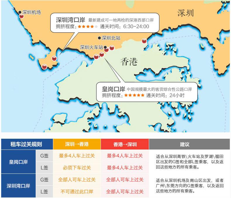 """深圳去香港还在为排队过关而烦恼?""""宏达跨境车""""深港出行第一选择!"""