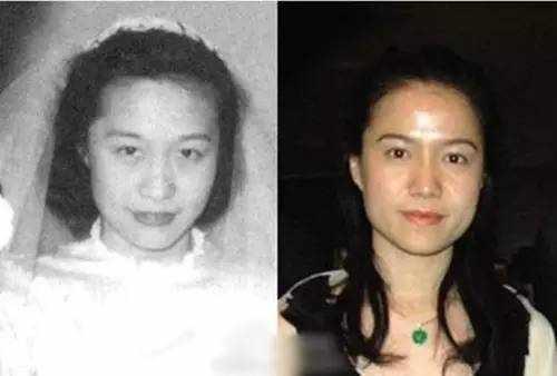 杜致礼(左)与翁帆(右)的对比照片