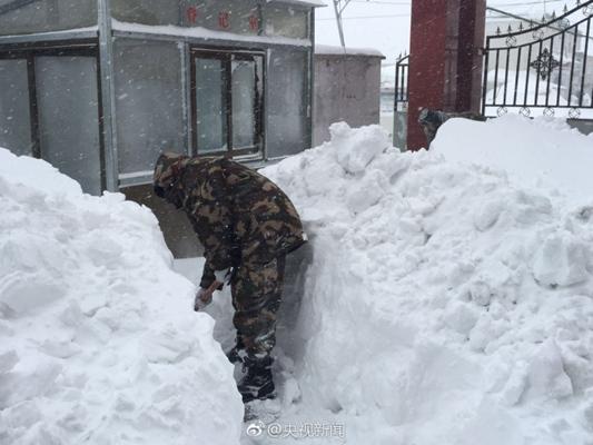 甘肃等【4省区】遭暴雪中东部开启降温模式