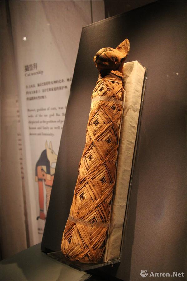 书画  对神圣动物的崇拜是古埃及宗教信仰的显著特征之一,古埃及人
