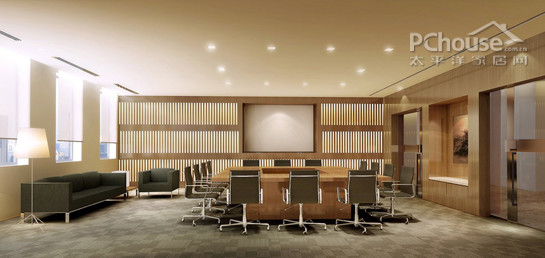 普通会议室设计
