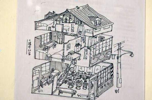 结构素描的图画