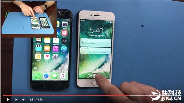 iPhone 7千万别找第三方修Home键:非原装秒成砖