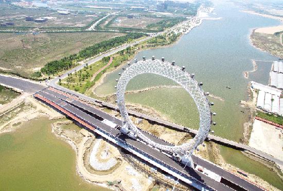 壁纸 大桥 道路 高速 高速公路 公路 桥 桥梁 桌面 550_373